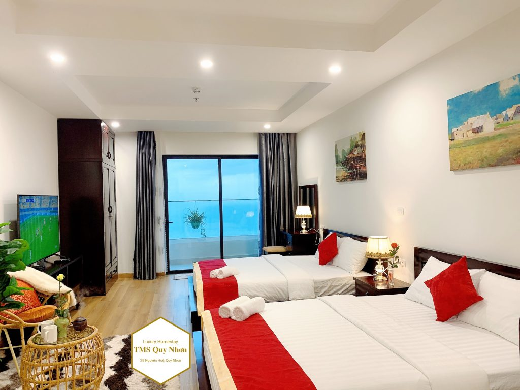 Homestay-Quy-Nhơn-TMS-Pullman-direct-oceace-view-47m-2bed-2